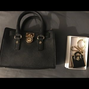 MICHAEL KORS NEW MINI BAG W/MATCHING KEYCHAIN